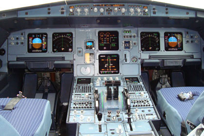 Cockpit erklärt (Airbus A 320)