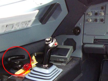 Handrad/Nosewheel steering